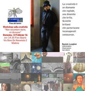 Workshop sulla creatività